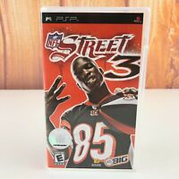 NFL Street 3 PSP Sony Playstation EA Sports Video Game Complete CIB Portable