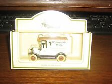 LLEDO PROMOTIONAL MODELS COLLECTION - 1920 MODEL T FORD VAN - WILLOWDALE MILLS