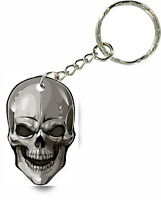 Keychain key ring keyring car motorcycle skull biker maltese cross r1