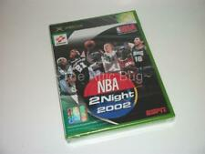 XBOX ~ NBA 2Night 2002 ~ JAPANESE NTSC-J ~ New & Factory Sealed