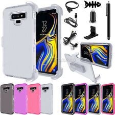 For Samsung Galaxy Note 9 Clear 360 Protection Shockproof Case Cover Accessories