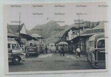 More details for mauritius postcard sized photo port louis commer buses 1950s