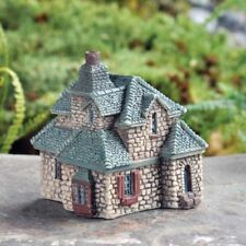 Miniature Dollhouse FAIRY GARDEN - Micro Mini Gables Cottage - Accessories