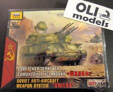 1/100 Soviet ZSU-23-4 SHILKA Anti-Aircraft Weapon System - HOT WAR - Zvezda 7419