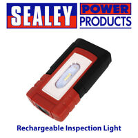 Sealey LED319 Rechargeable Inspection Light 4 SMD 1 SMD Lithium-Polymer