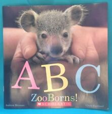 ABC Zooborns By Andrew Bleiman And Chris Eastland 2013 Paperback Book New!