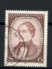 Austria 1981 SG # 1904 Johann FLORIAN USATO #A 20645
