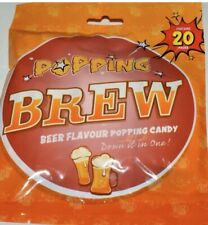 Beer Flavour Popping Candy, Wedding Favours Hen/Stag Do Party Bags 🍺