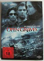 DVD - OPEN GRAVES - Der Einsatz ist dein Leben -  deutsch - english