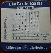 Bierdeckel / Sudoku / Eschwege / Klosterbräu / Rarität / Kult