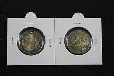 FINLANDIA 2010 n° 1 x 2 EURO MARCO FINLANDESE da rotolino di zecca UNC