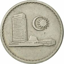 [#468834] Malaysia, 20 Sen, 1978, Franklin Mint, EF(40-45), Copper-nickel, KM:4