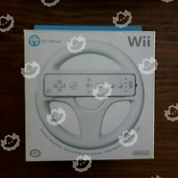 Nintendo Wii Wheel Steering In Box Complete ( Nintendo Wii U ) Tested
