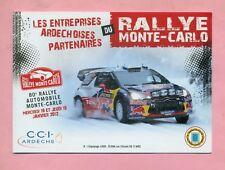 RALLYE MONTE CARLO 2012 - CITROËN DS 3 WRC - LOEB / ELENA