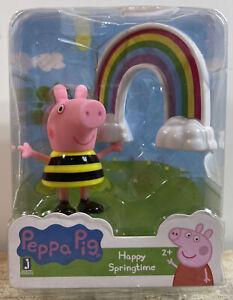 "Peppa Pig Peppa's Happy Springtime 2.5"" Mini Figure Jazwares"