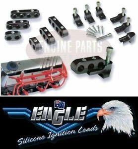 SPARK PLUG IGNITION LEAD HOLDERS SEPERATORS MOUNTS 8-9MM HOLDEN 253 308 V8 5.0L