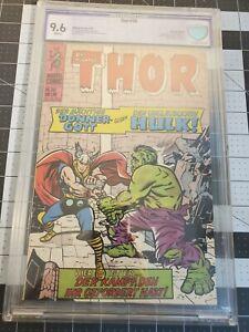 Journey Into Mystery 112 German  Thor 30 CBCS 9.6 White Highest graded Hulk 1976