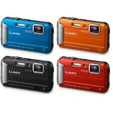 "Panasonic Lumix DMC FT30 16.1mp 2.7"" Waterproof Digital Camera Brand New Jeptall"