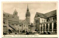uralte AK Braunschweig Burg Dankwarderode, Dom mit Rathaus //17