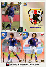 2010 Panini South Africa World Cup Soccer Cards Team Set Japan (4)
