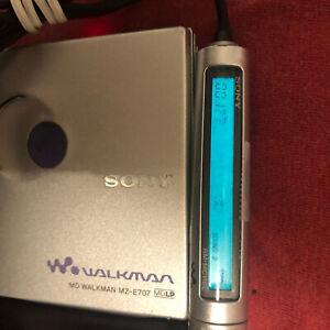 SONY MD WALKMAN MZ-E707 Silver