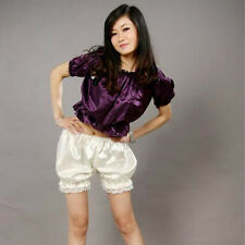 Black/White Women Lace Bubble Bloomer Shorts Safety Under Pants 	Trousers Summer