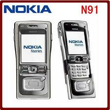 "Original Nokia N91 8GB Unlocked Mobile Phone 2MP 2.1"" TFT Screen WiFi GPS"