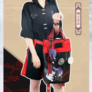 Grandmaster of Demonic Cultivation Wuxian Wangji Transparent Backpack Itabag