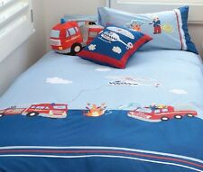 Firefighters and Police Heroes KAS Kids Australia Duvet Cover Set Full