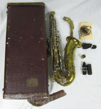 The Indiana by Martin Elkart Saxophone Musical Instrument Sax + Case Bundle