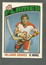 1976-77 OPC O-Pee-Chee Hockey Hilliard Graves #273 Atlanta Flames NMT+ *1