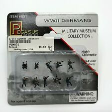 Pegasus 1/144 WWII German Infantry #851 (Painted Figures) Set #1