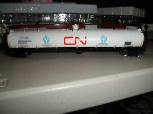 "canadian National - "" 911 training car ""  ACF 33,000 gallon tank car"