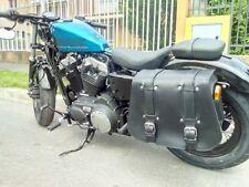 Per SPORTSTER Harley Davidson mono borsa in cuoio per moto custom