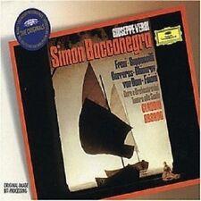 FRENI/CARRERAS/ABBADO/OTSM - SIMONE BOCCANEGRA (GA) 2 CD NEU