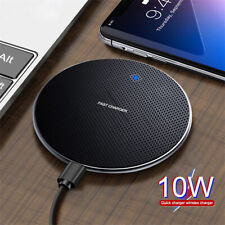 For Samsung Galaxy Note 10 Plus 9 Fast Qi Wireless Charger Charging Dock Pad Mat