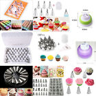 52Pcs Icing Piping Set Pastry Fondant Cake Decorating Sugarcraft Nozzle Tip Tool