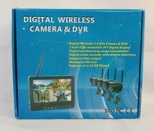 "7"" Video Home Security Surveillance Cameras System"