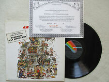 """LP 33T VARIOUS """"National lampoon's animal house"""" MCA 63 28 867 SPAIN §"""