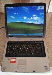 "Toshiba Satellite Pro A60 PSA65E Laptop Notebook 15"" 512MB 60GB Windows XP Blue"