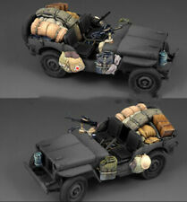 1:35 LRDG/SAS Jeep Accessories, Resin Model Kit, British Army WW2 (NO CAR)