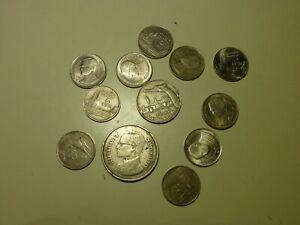 Thailand  12 Münzen