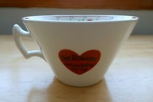Vintage The Romany Fortune Telling Tea Leaves Cup 1930s, Cup Only