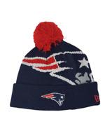 New England Patriots Players Sideline Knit Beanie Cap Hat NFL New Era Winter Pom
