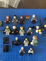 JOB LOT of Harry Potter GENUINE LEGO MINIFIGURES Rare Series Spares