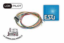ESU 51950 cable harness with 8-pin plug according to NEM 652, DCC colour,