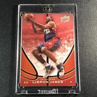 LEBRON JAMES 2007 UPPER DECK #1 STARTING FIVE CARD PROMO CARD CAVALIERS NBA
