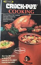 Rival CROCK POT Cooking THE ORIGINAL Slow Cooker COOKBOOK over 300 Great Recipes