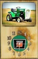 Oliver Town and Country 145 garden tractor Wood Clock