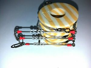 3x MINI TRAVE-TRAVETTO-surfasting rigs-tournament fishing-saltwater-OWNER HOOKS